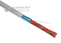 FTP 10PR LAN CABLE LANSET 24AWG CAT 5e INDOOR (катушка 305м)