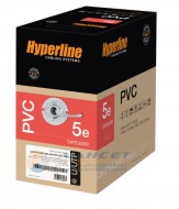 Hyperline UUTP4-C5E-S24-IN-PVC-GY-305