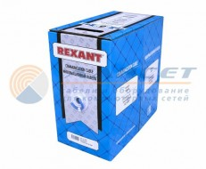 UTP4 REXANT CAT6  23AWG, INDOOR кор 305м