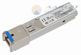 Модуль SFP IT.Rex FTN44620L-34, 1.25/2.5Gb/s, B+, TX1310нм, RX1490нм, SC