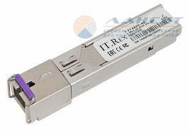 Модуль SFP IT.Rex FTT4420-43, 1.25/1.25Gb/s, PX-20+, TX1490нм, RX1310нм, SC